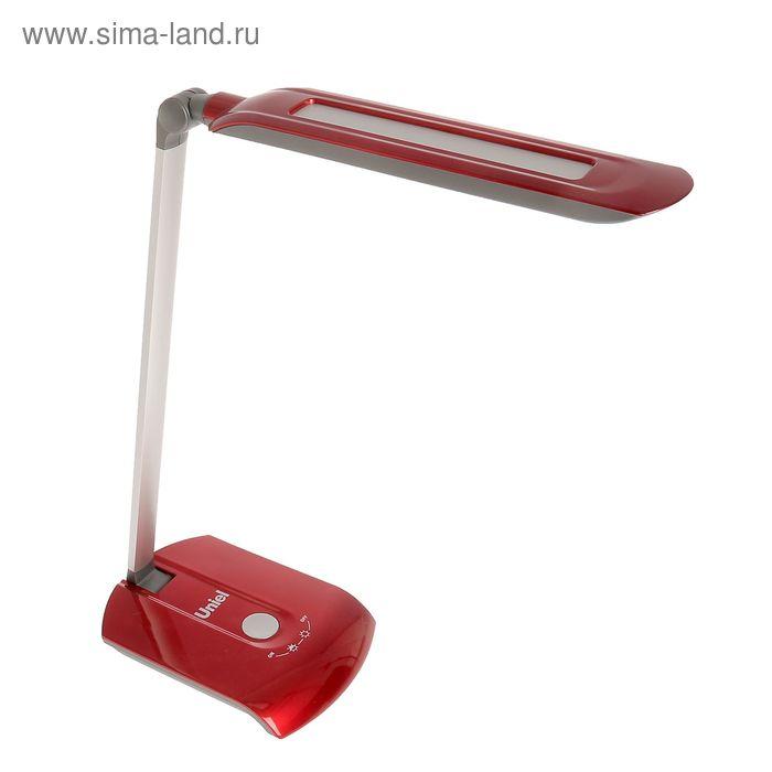 """Светильник настольный """"Вайт"""", красный, LED"""