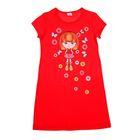 """Сорочка для девочки """"Принцесса"""", рост 86-92 см (26), цвет красный Р307761_М"""