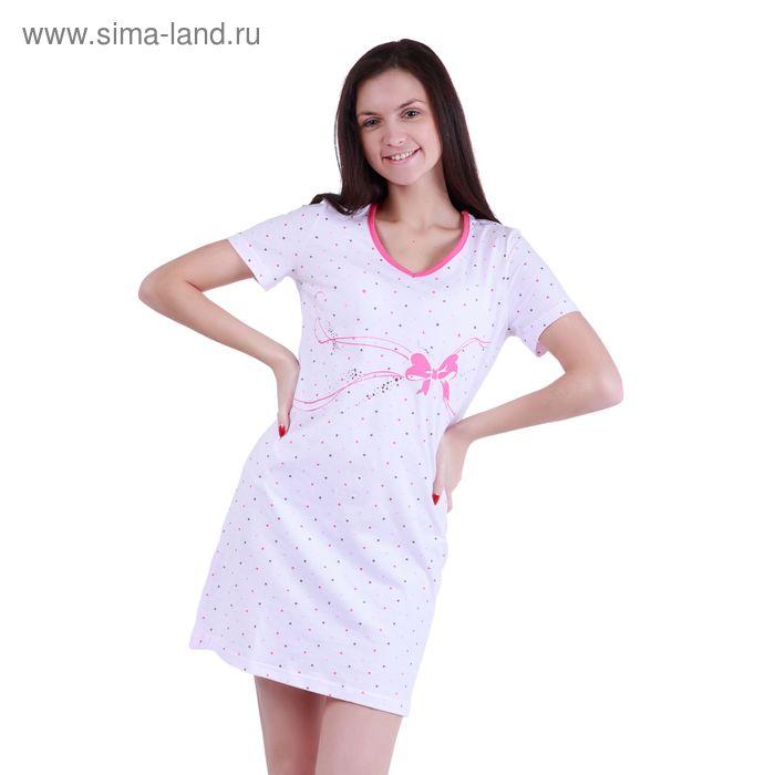 """Сорочка женская ночная """"Цветные сны"""" Р308125, рост 170-176 см, р-р 46"""