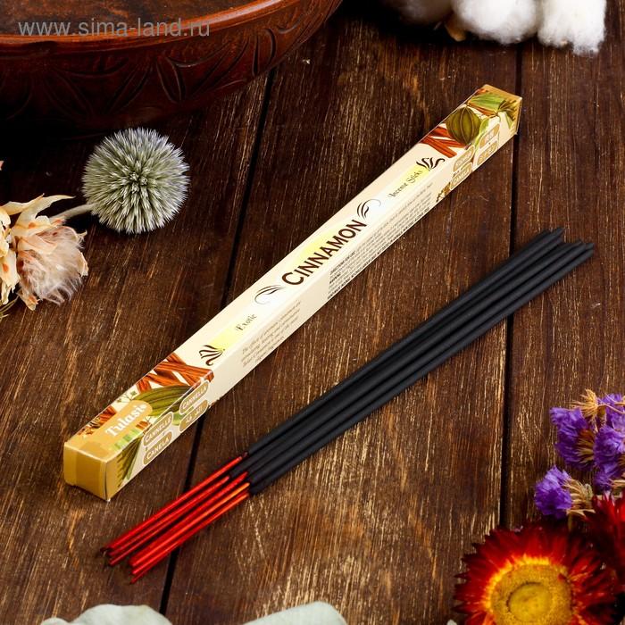 Благовония четырехгранник Sarathi Cinnamon Корица 8 палочек в упаковке