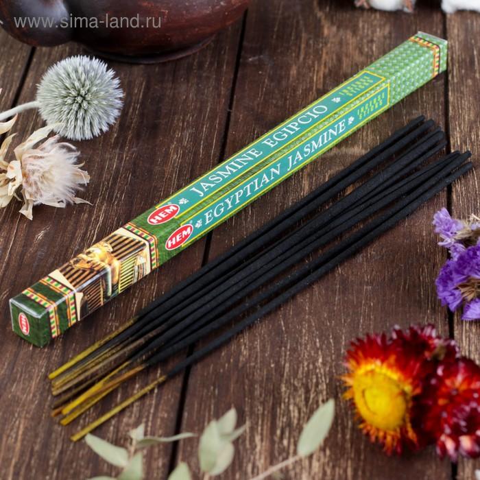 Благовония четырехгранник HEM Egyptian Jasmine Египетский Жасмин 8 палочек в упаковке