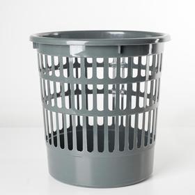 Корзина для мусора 11 л 'Офисная', цвет МИКС Ош