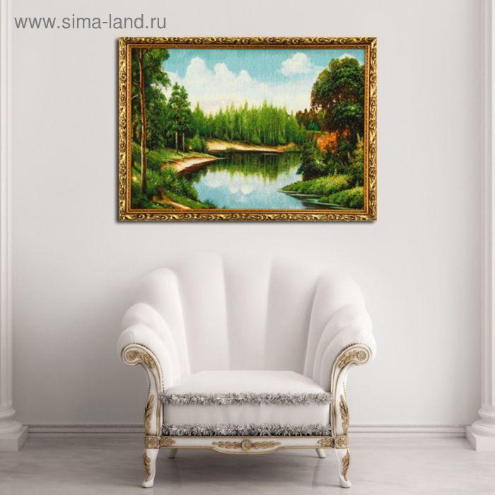 "Гобеленовая картина ""Облака над лесом"""