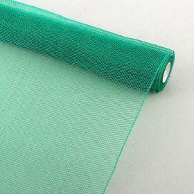 Сетка для цветов простая, зеленая 53 см х 6,5 м