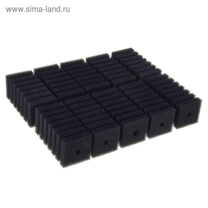 Губка для помп квадратная (55мм*55мм* 120мм)