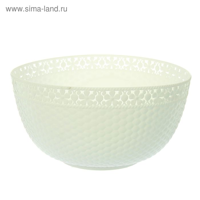 """Салатник 26,5 см """"Мозаика"""", цвет белый"""