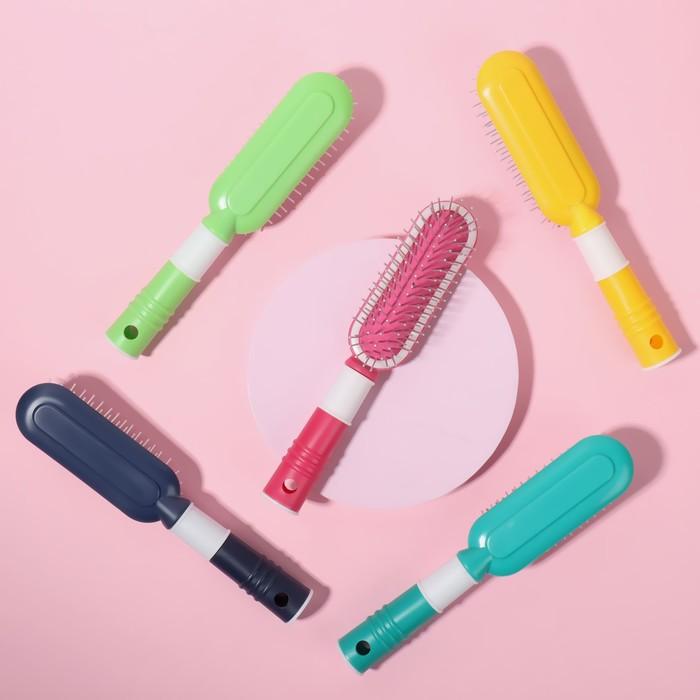 "Расчёска массажная ""Забава"", цвета МИКС"