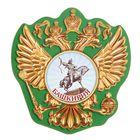 """Магнит в форме герба """"Башкирия"""""""