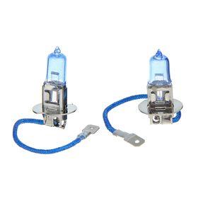 Комплект галогенных ламп TORSO H3, 4200 K, 12 В, 55 Вт, 2 шт., SUPER WHITE