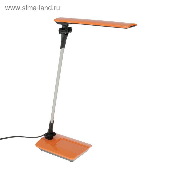"""Светильник настольный сенсорный """"Сириус"""", оранжевый, LED"""