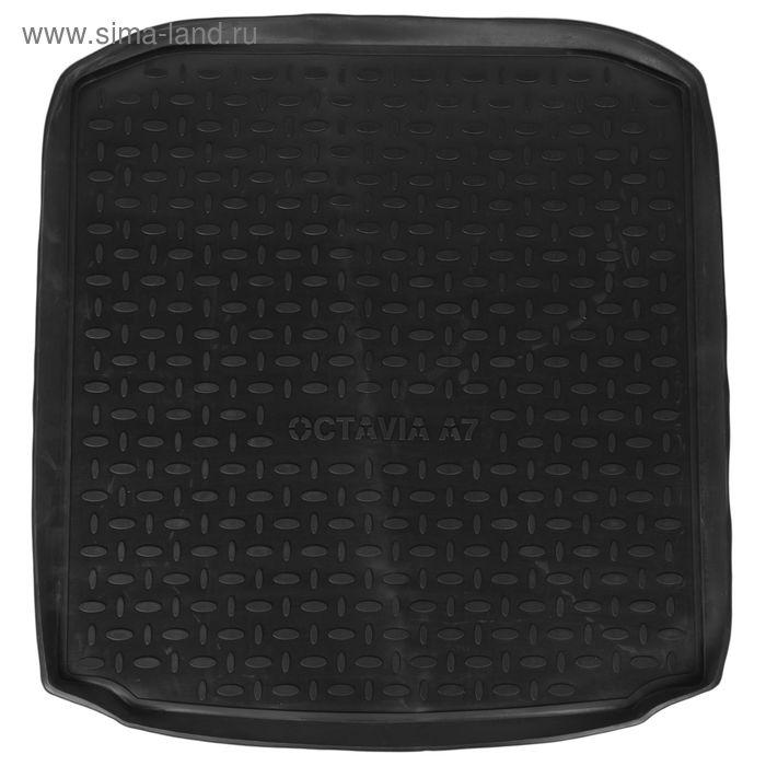 Коврик в багажник Skoda Octavia A7 2013-