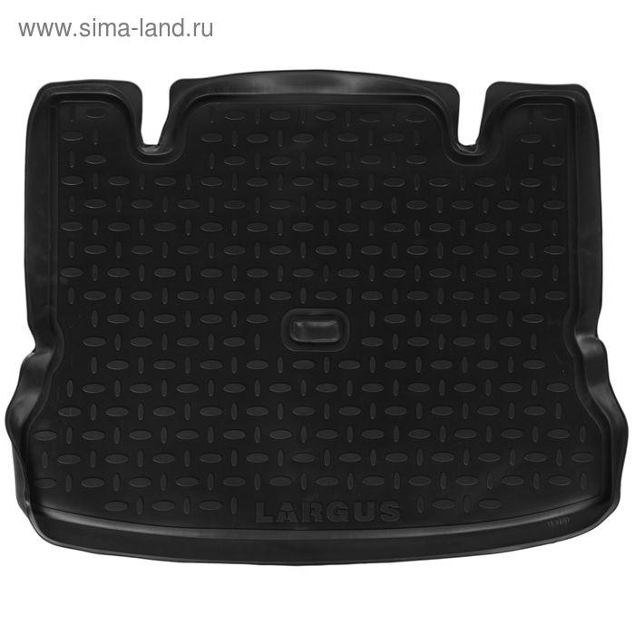 Коврик в багажник на Ваз Lada LARGUS, 2012-