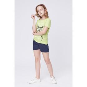 Футболка для девочки, рост 146 см (38), цвет МИКС Р107818_Д