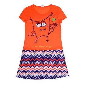 Туника для девочки, рост 158-164 см (42), цвет коралл Р807776_П