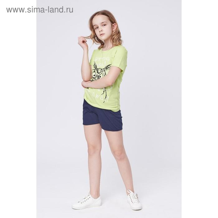 Футболка для девочки, рост 152 см (38), цвет МИКС Р107818_П