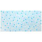 Панель ПВХ Мозаика голубая 955*480