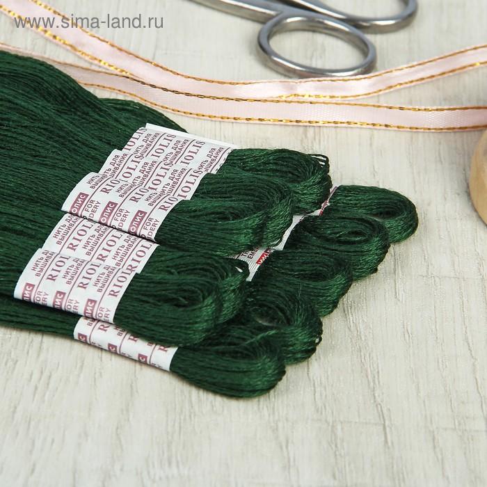 Мулине, №330, 20±1м, цвет болотный зелёный