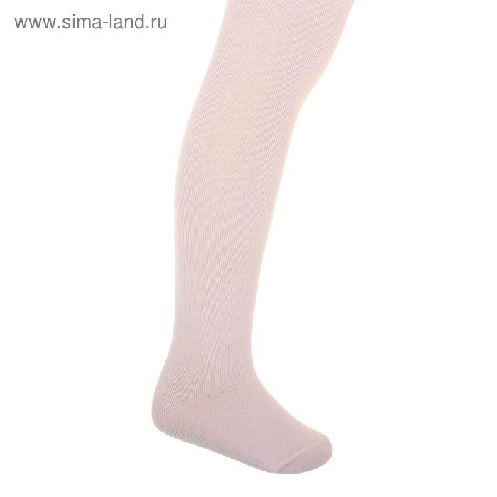 Колготки детские, размер 14, рост 98-104 см, 3-4 года, цвет розовый