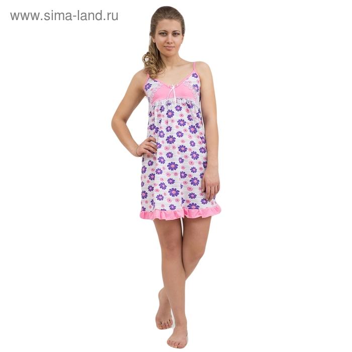 Сорочка женская 63 МИКС, р-р 48