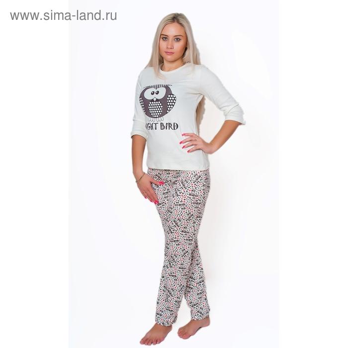 Комплект женский (фуфайка, брюки) ТК-940 МИКС, р-р 50