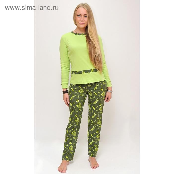 Комплект женский (фуфайка, брюки) ТК-584Е МИКС, р-р 42