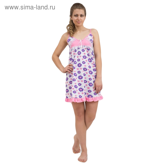 Сорочка женская 63 МИКС, р-р 44