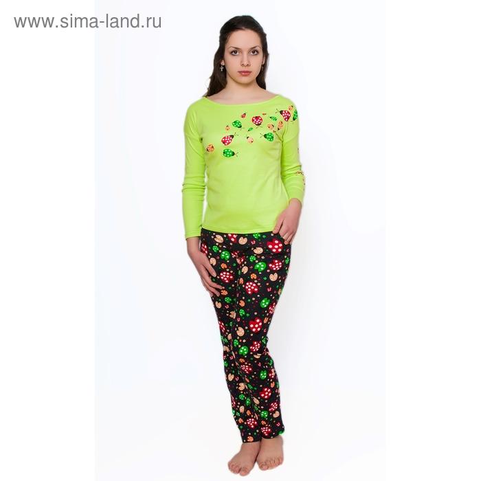 Комплект женский (фуфайка, брюки) ТК-954 МИКС, р-р 48