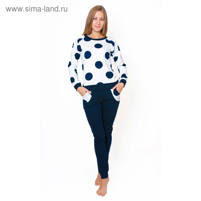 Комплект женский (фуфайка, брюки) ТК-926 МИКС, р-р 48