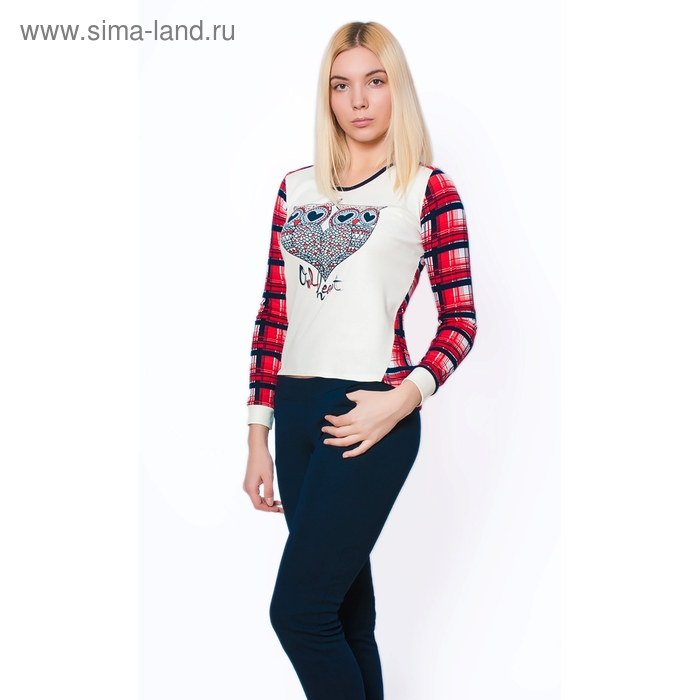 Комплект женский (фуфайка, брюки) ТК-944 МИКС, р-р 42