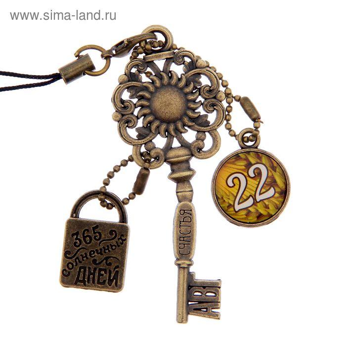 """Ключ сувенирный """"22 Августа"""", серия 365 дней"""