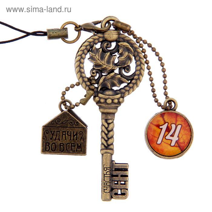 """Ключ сувенирный """"14 Сентября"""", серия 365 дней"""