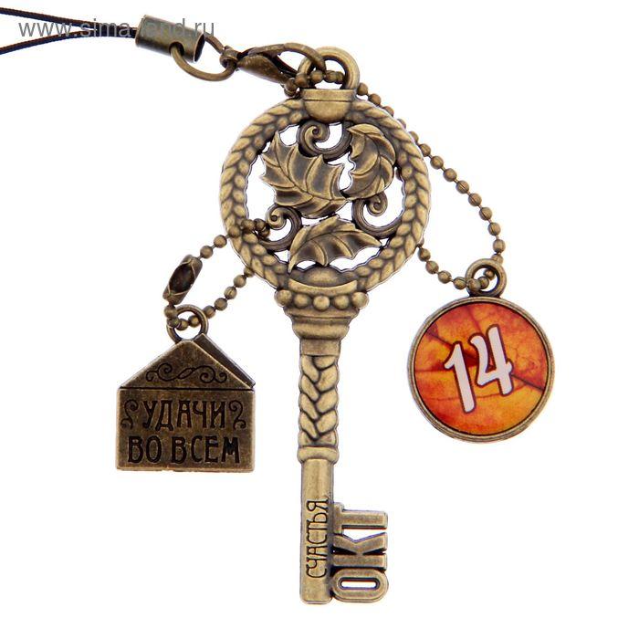 """Ключ сувенирный """"14 Октября"""", серия 365 дней"""