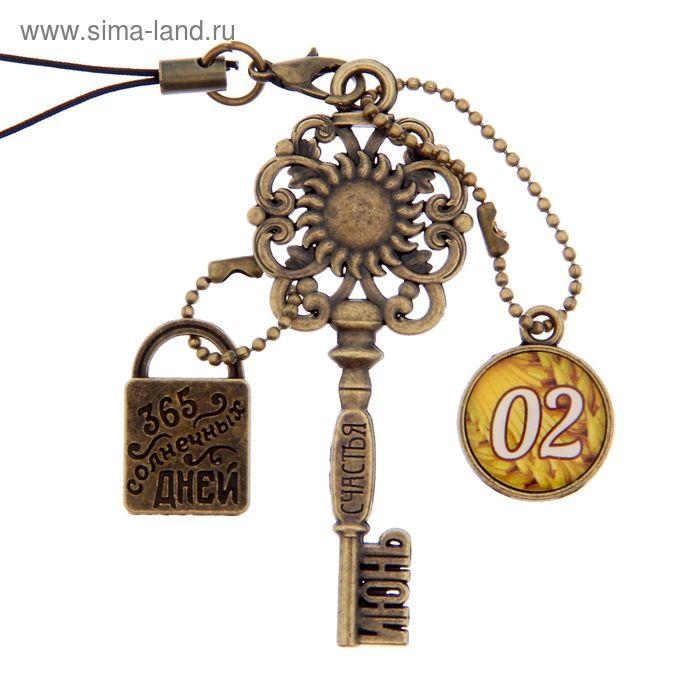 """Ключ сувенирный """"2 Июня"""", серия 365 дней"""
