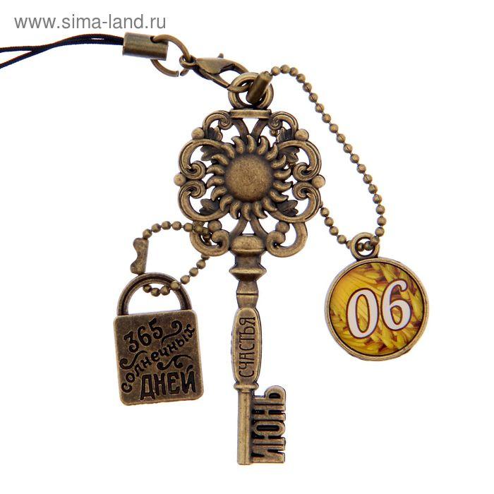 """Ключ сувенирный """"6 Июня"""", серия 365 дней"""