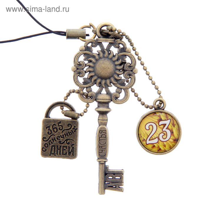 """Ключ сувенирный """"23 Августа"""", серия 365 дней"""