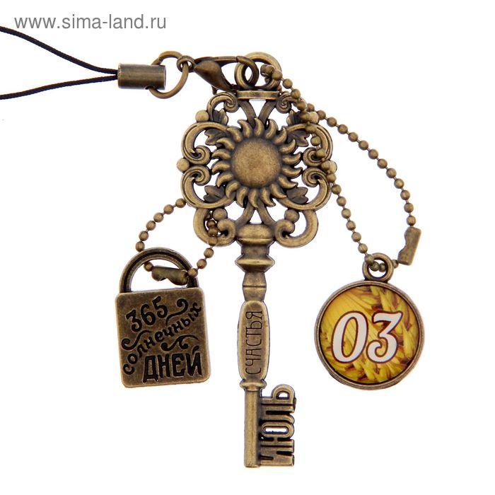 """Ключ сувенирный """"3 Июля"""", серия 365 дней"""