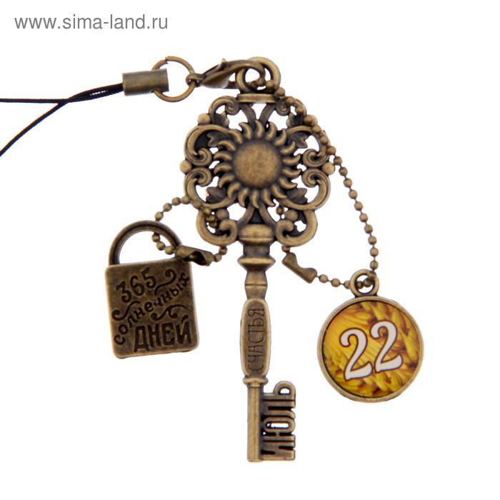 """Ключ сувенирный """"22 Июля"""", серия 365 дней"""