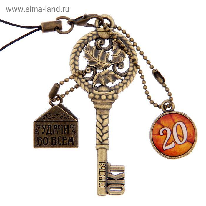 """Ключ сувенирный """"20 Октября"""", серия 365 дней"""