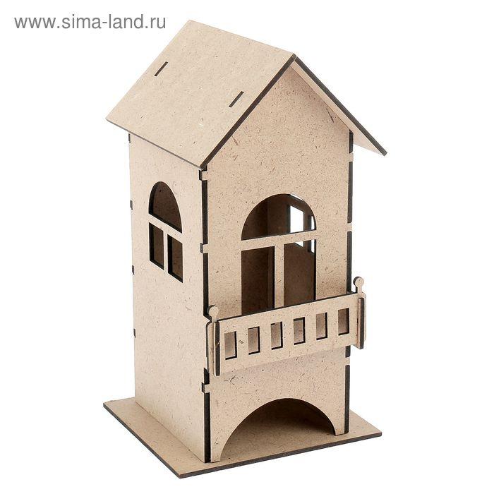 Чайный домик с балконом, набор 7 деталей