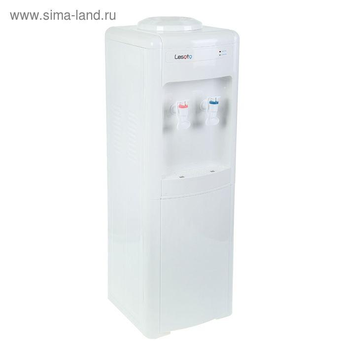 Кулер для воды Lesoto 16 LD, с охлаждением, 500 Вт, белый