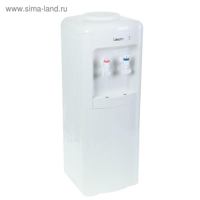 Кулер для воды Lesoto 222 LD, с охлаждением, 500 Вт, белый