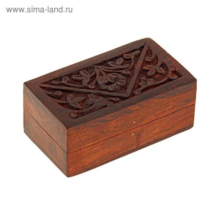 "Шкатулка резная ""Уют"""