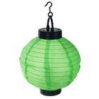 """Фонарь садовый на солнечной батарее """"Фонарик зеленый"""" 23 х 20 х 20 см, 1 led, текстиль"""