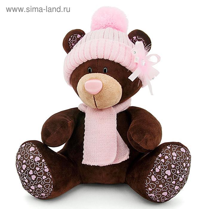 Мягкая игрушка «Milk в розовой шапке»