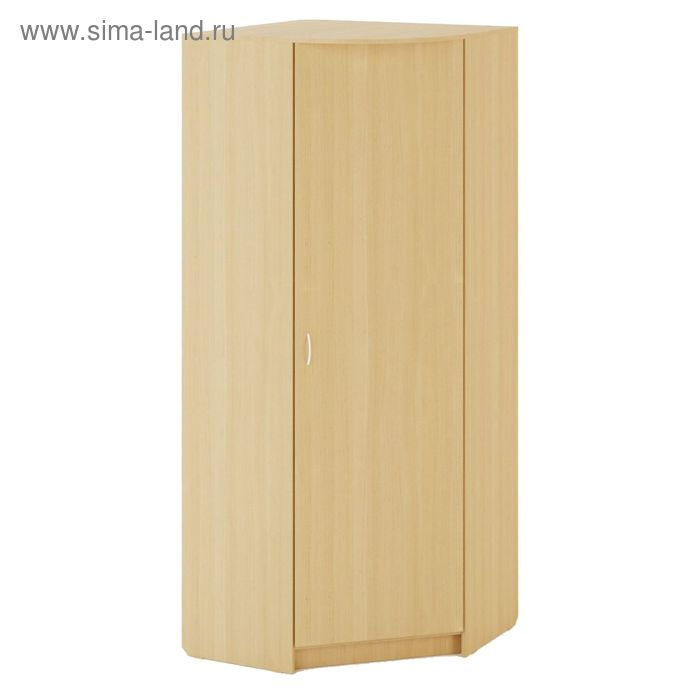 Шкаф Угловой 900х900х2200 мм, белёный дуб