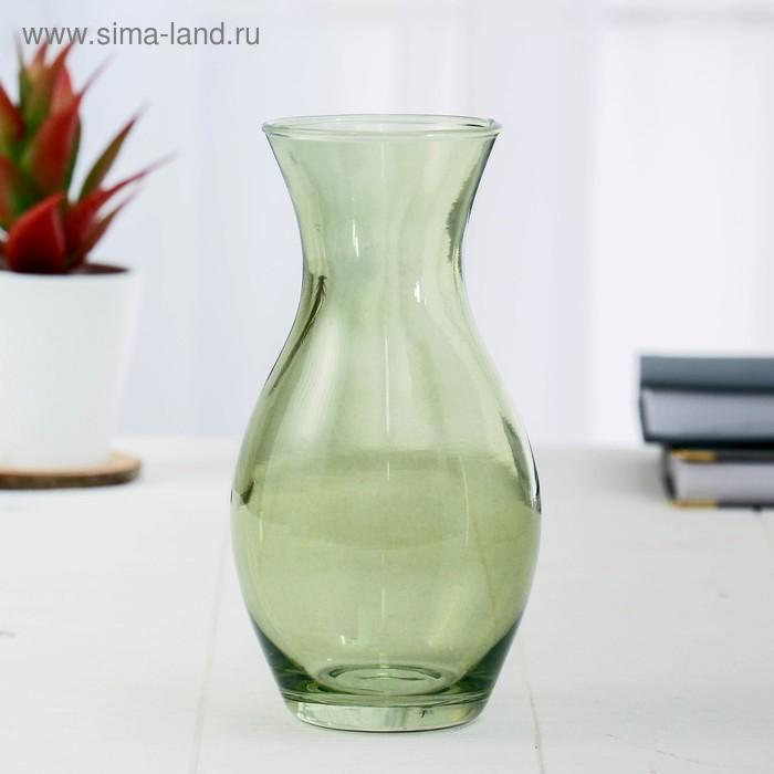 """Ваза """"Весна"""" зелёная, 0,61 л"""