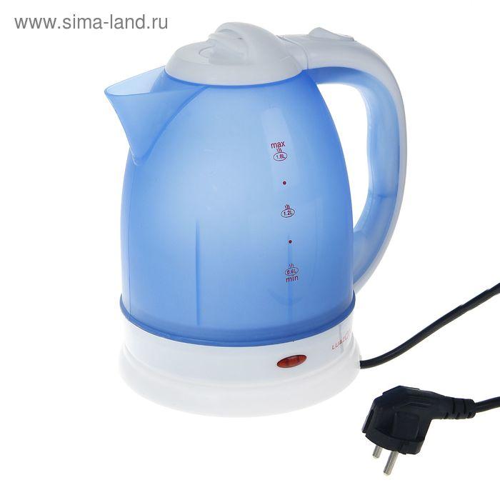 """Электрочайник """"LuazON"""" LPK-1807, 1500W, 1,8л, синий"""