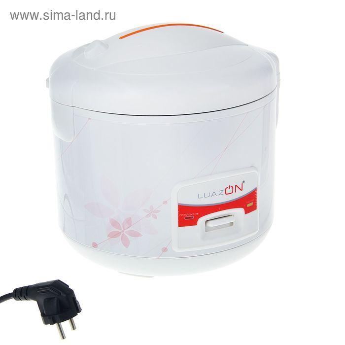 Мультиварка LuazON LМS-501, 3 л, 500 Вт, антипригарное покрытие, белая