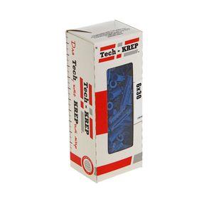 """Дюбель распорный """"Чапай"""", 6х30 мм, шипы+усы, полипропилен, в коробке 100 шт."""
