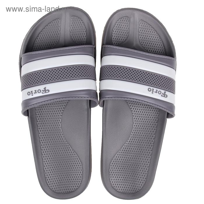 Туфли пляжные Forio арт. 239-5701 (серый) (р. 38)